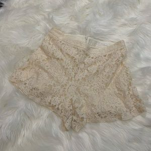 Lush Lace Shorts Medium